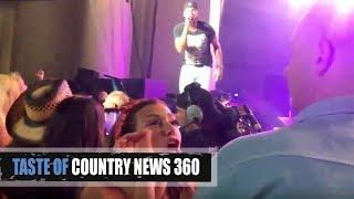 Luke Bryan Shut Down by Fighting Fan - Taste of Country 360