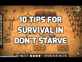 10 Tips for Survival in Don