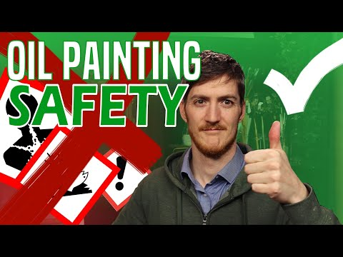 Oil Painting for Beginners - Safety and Products