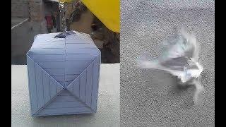 कागज से पानी का बम वना ना सीखे    How to make a water bomb    LIFE HACKS HINDI