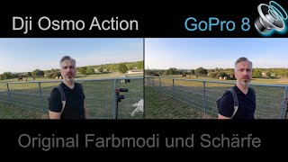 Dji Osmo Action vs Gopro 8  | Outdoor Test
