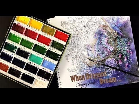 New Color Book: When Dragons Dream