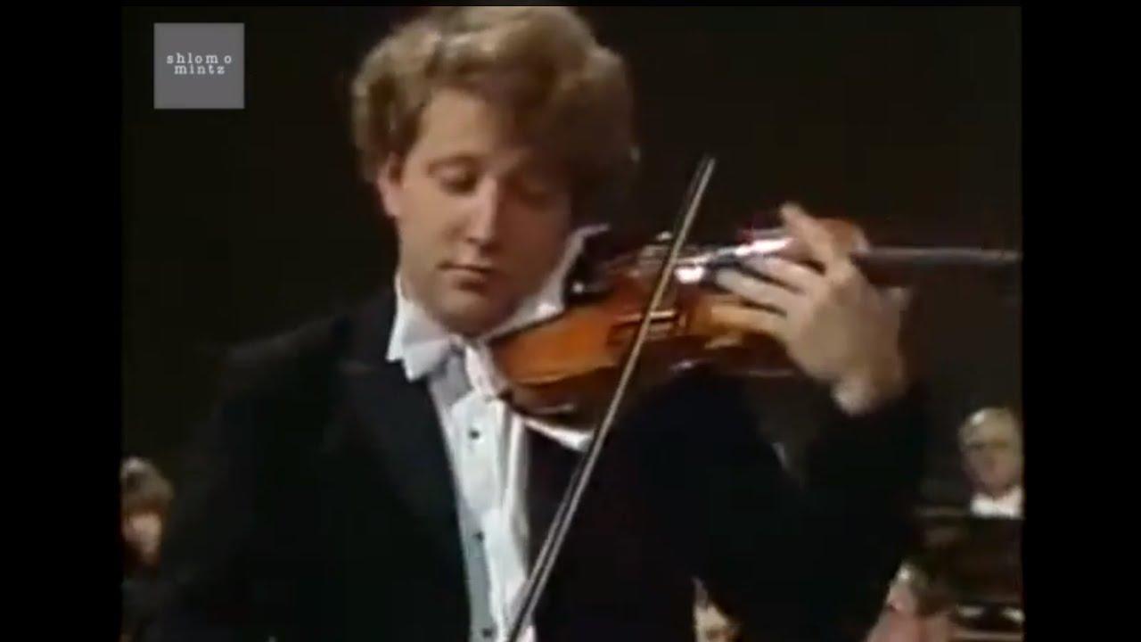 Shlomo Mintz plays Wieniawski