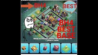 BEST Builder Hall 4 Base! | COC BH4 Base Designs | BH4 | Clash of Clans |