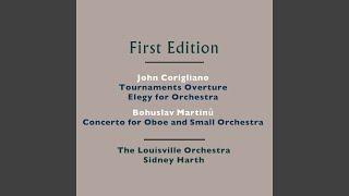 Concerto for Oboe and Small Orchestra, H. 353: III. Poco allegro