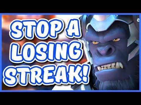 Overwatch - HOW TO STOP A LOSING STREAK