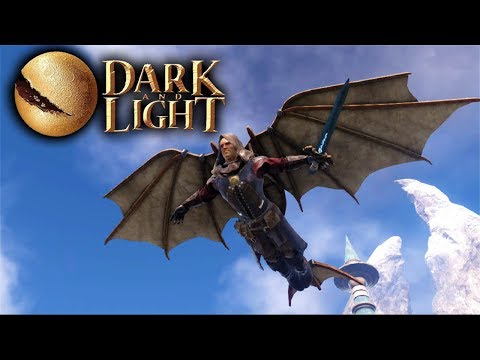 Dark and Light - Hanglider Crafting & Hangliding! (Dark and Light Gameplay Part 5)