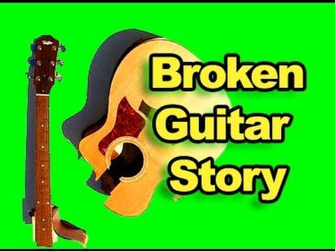 My Broken Guitar Story - Blemished But Not Broken - Deal Breakers & Easy Guitar Repairs