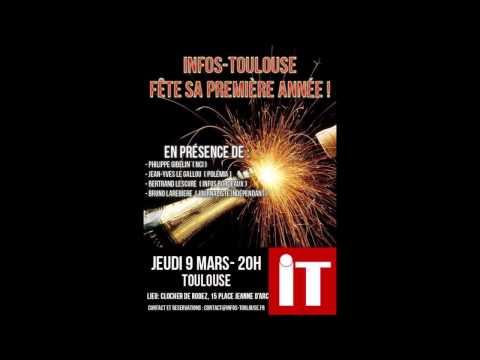 Radio Libertés invite Infos Toulouse dans sa matinale