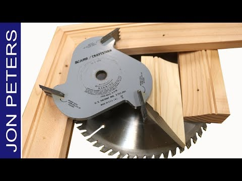 Make molding with the table saw build a picture frame youtube youtube premium greentooth Choice Image