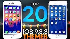Top 20 Jailbreak Themes For iOS 9.3.3!