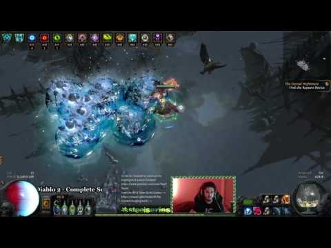 Path of Exile Legacy HC | No More Vortex, We're now Frostbolt COC! Shatter Everything