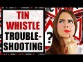 Pennywhistle Problems - TIN WHISTLE TROUBLESHOOTING for beginners