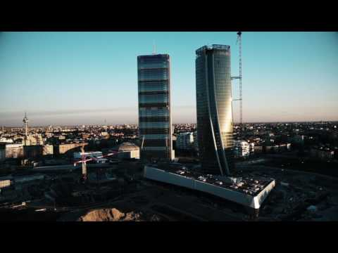 CityLife Milan Italy Shot With DJI Phantom4 Pro