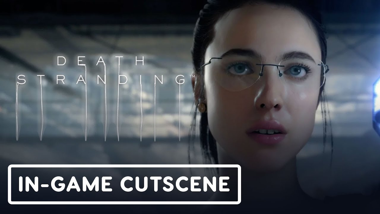 Death Stranding: Mama In-Game-Zwischensequenz - Gamescom 2019 + video