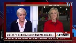 Susan Sarandon Mocks MSNBC's Teary Eyes For Hillary Clinton