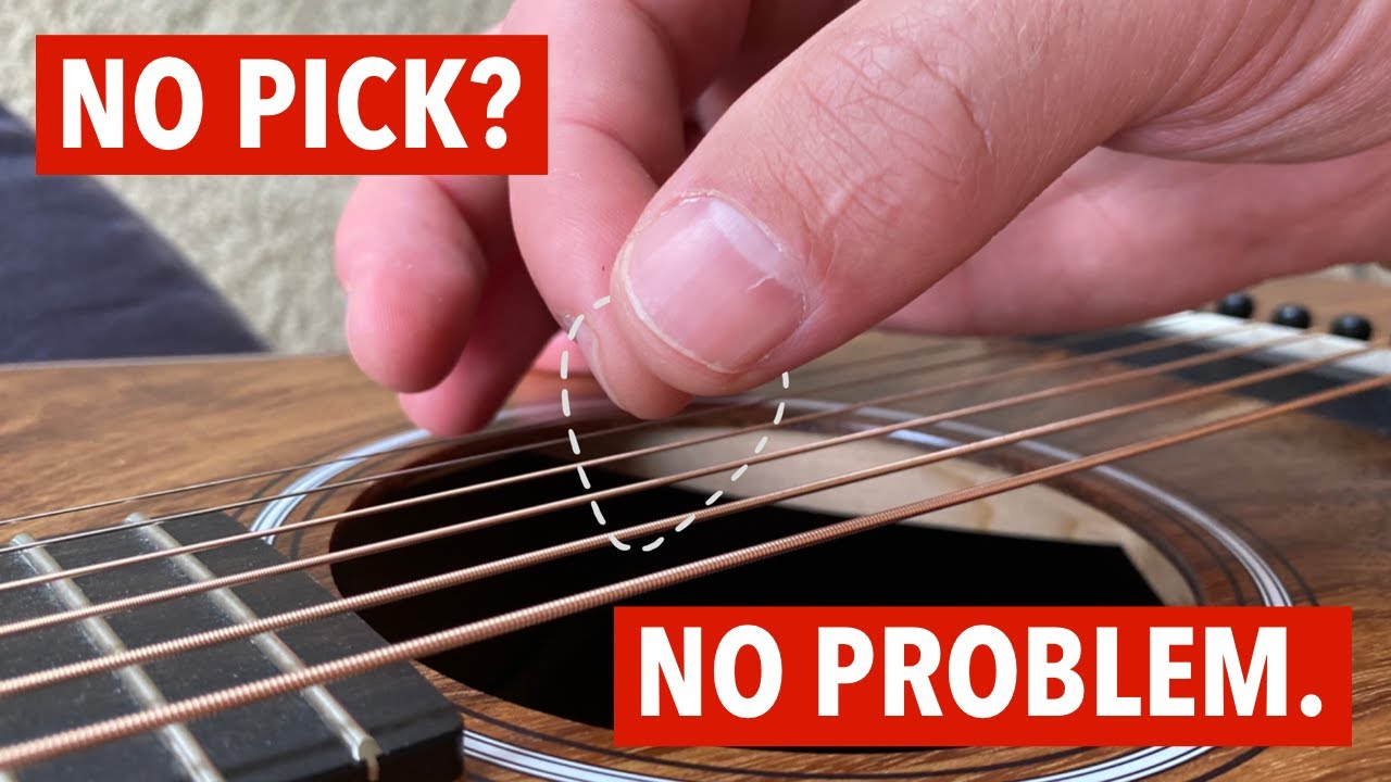3 ways to strum without a pick