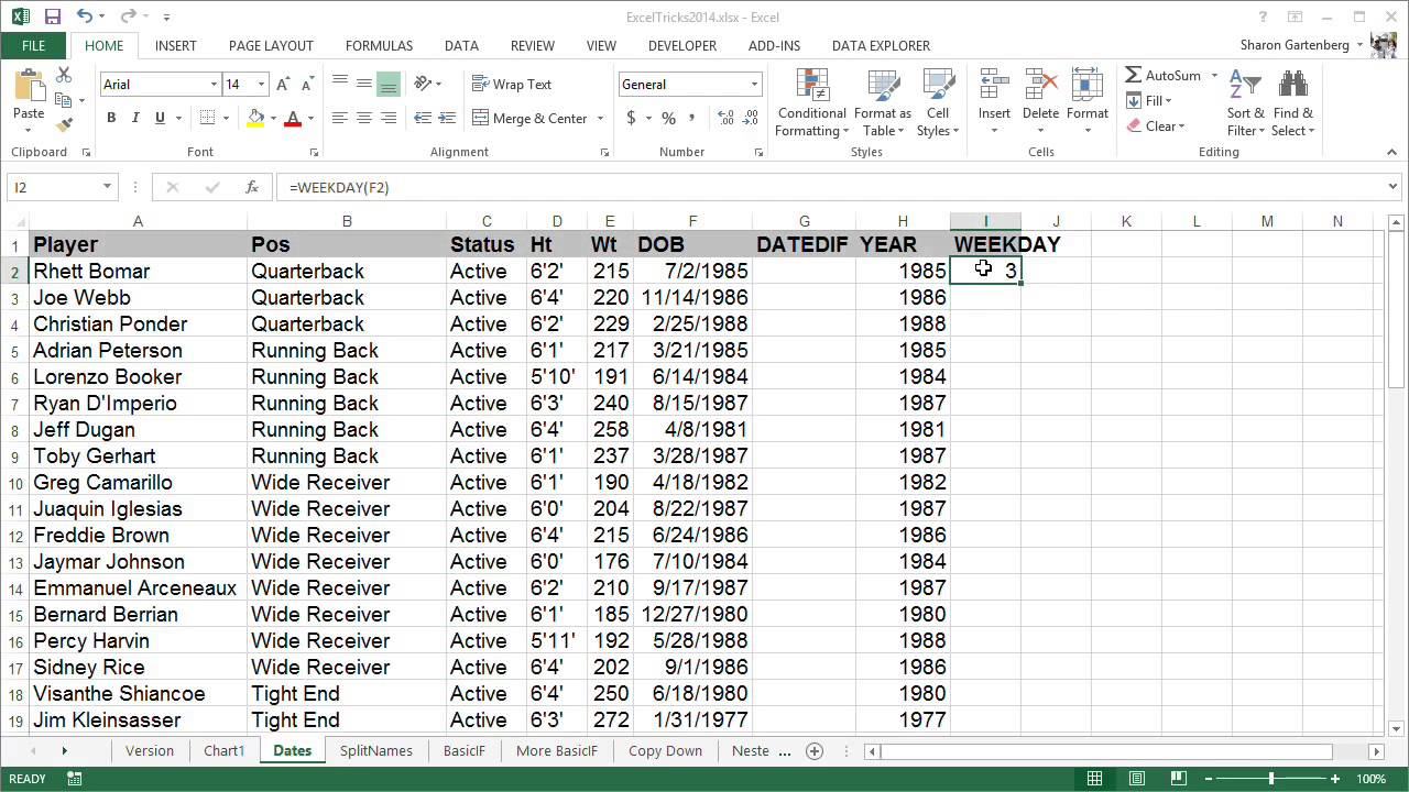 5 tips for data manipulation in Excel | Computerworld