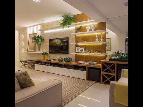 Modern Contemporary Tv Unit Designs For Living Drawing Room Bedrooms Part 1 Youtube