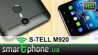 S-TELL M920 - Обзор смартфона