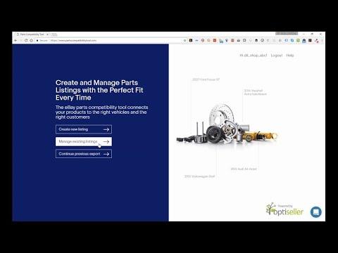 Webinar - eBay Motor Parts Compatibility Tool for Linnworks
