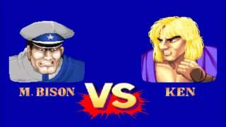 Street Fighter II Hyper Fighting(Arcade)-M.Bison Playthrough