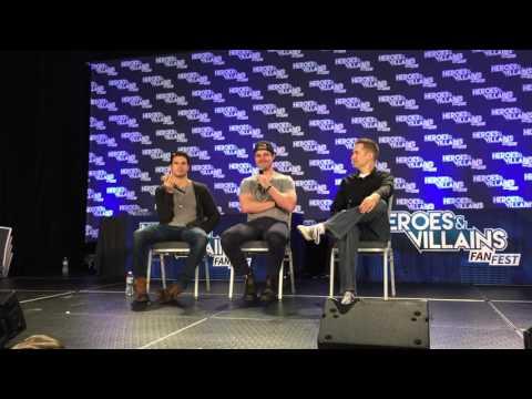 Heroes & Villains FanFest 2015 (Super Cousins Panel)