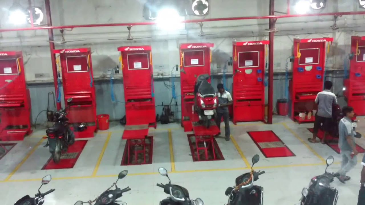 Honda Authorized Honda Bike Amp Scooter Service Center