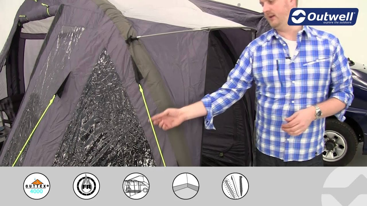 Outwell San Diego Freeway Drive-Away Awning | Innovative ...