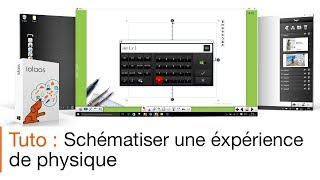 Tutoriel écran interactif : animer un cours de physique avec un logiciel pour écran interactif