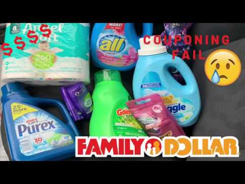 Family Dollar Couponing   All Digitals   Beginner Friendly   Couponing Fail   March 3-9