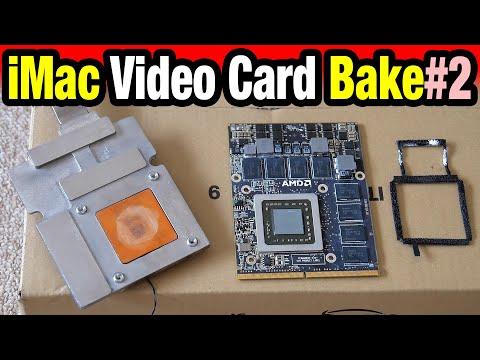 """Late 2009 iMac 27"""" Video Card Repair — 4850 — 2nd Bake"""