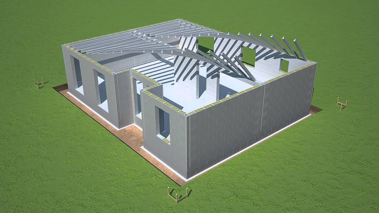 je construis ma maison avec seac youtube. Black Bedroom Furniture Sets. Home Design Ideas
