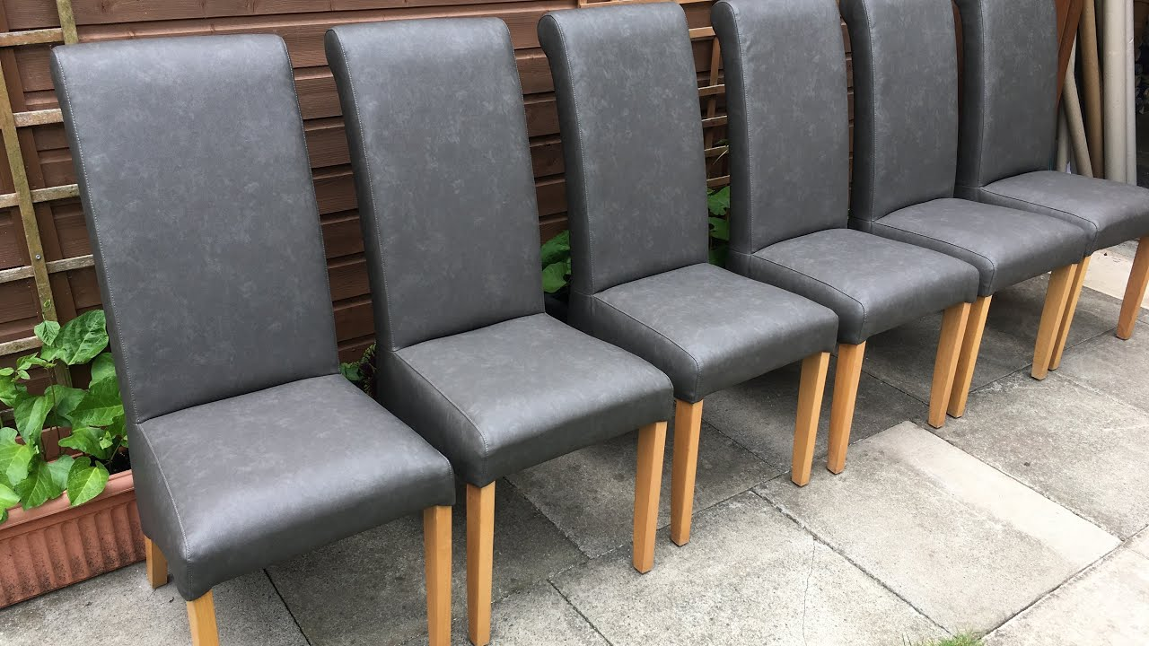 Recover Fully Upholstered Dining Chairs
