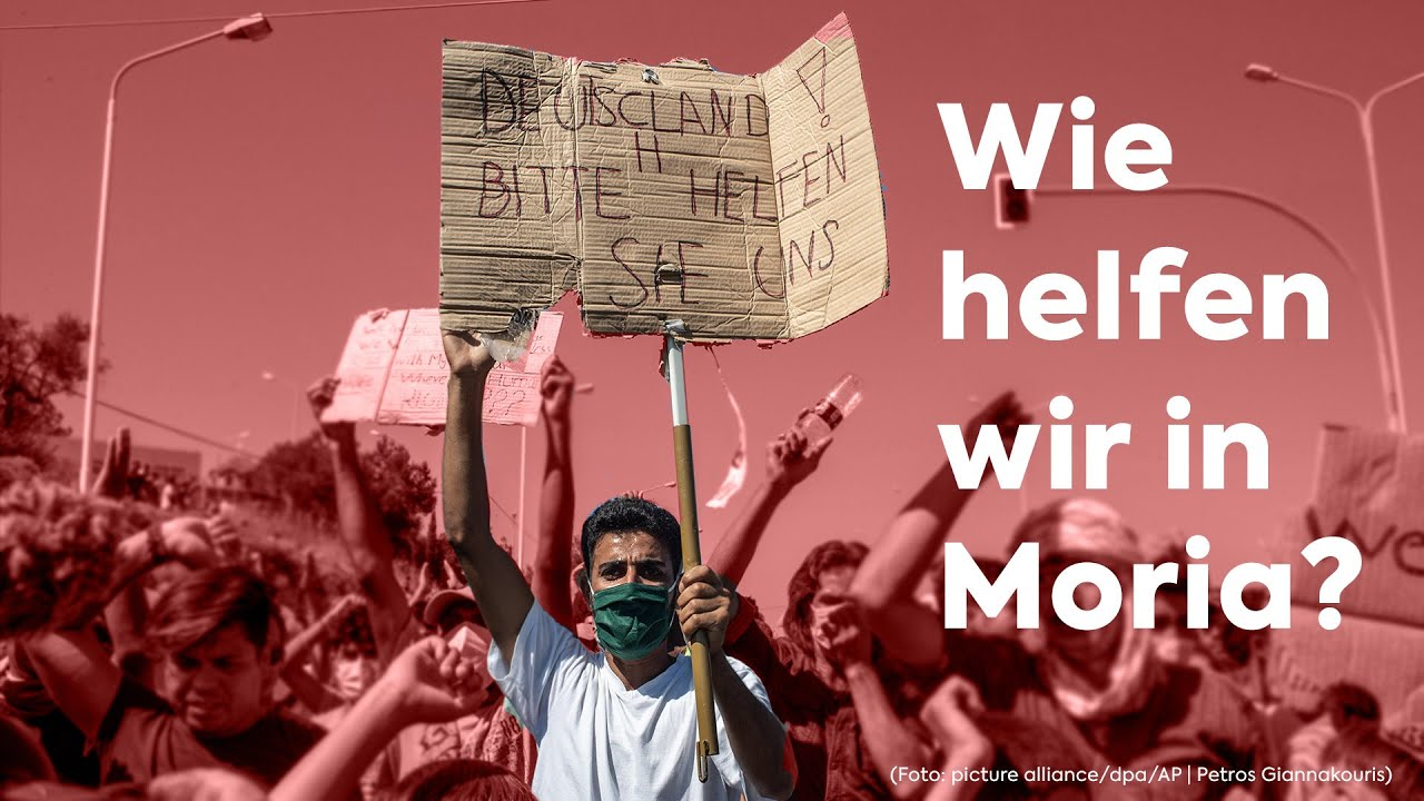 Wie helfen wir in Moria?