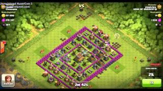 #Clash Of Clans - Dicas CV7 Ataque com gg #01