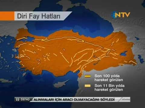 Turkiye De Yeni Fay Hatlari Bulundu Fay Haritasi Degisti 326 Diri Fay