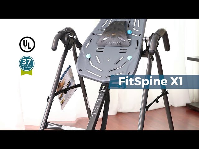Teeter FitSpine X1 Inversion Table - Product Feature