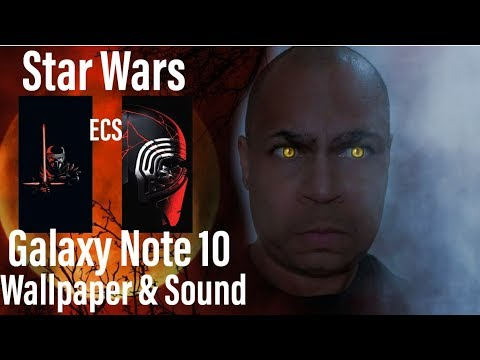 Galaxy Note 10 Plus Star Wars Edition Wallpaper Spen Lightsaber Sound The Easy Way Youtube