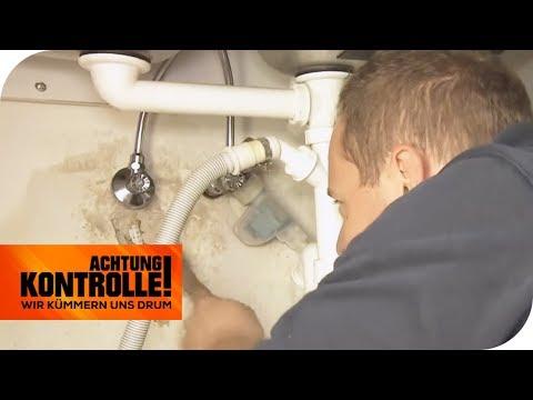 Extremer Wasserschaden: Kann der Notdienst da helfen? | Achtung Kontrolle | kabel eins