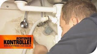Extremer Wasserschaden: Kann der Notdienst da helfen?   Achtung Kontrolle   kabel eins