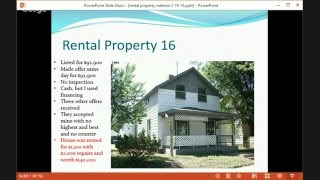 What is the best way to invest in rental properties webinar