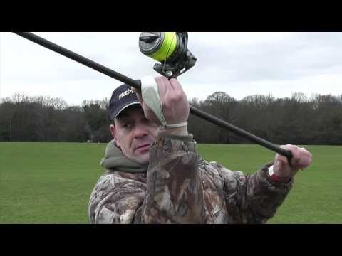 Carp Fishing - Free Spirit Mark Hutchinson Casting