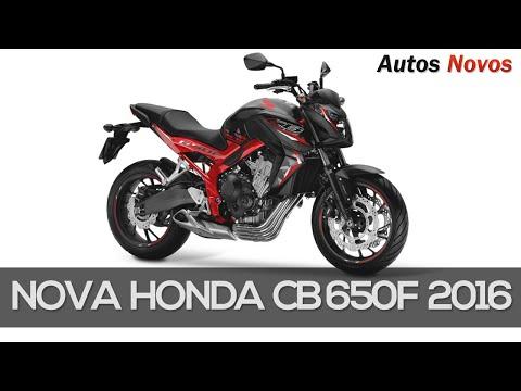 Nova CB 650F 2016 - Autos Novos