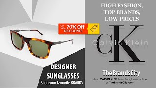 Calvin Klein Polarized Sunglas…