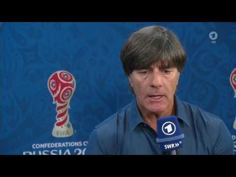 Joachim Löw – Deutschland v Chile post-match Interview (Confed Cup 2017)
