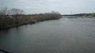 RiverLINE going over Rancocas Creek