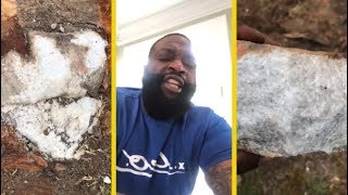 Rick Ross Finds The Motherlode Of Marble On His Property!