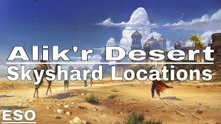 ESO | Alik'r Desert Skyshard Locations (Description)