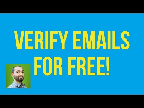 How To Check Email Address Validity    Email Address Verification   100% Free Method